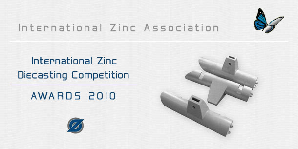 Preisgewinner International Zinc Diecasting Competition 2010